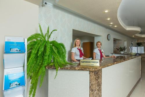 The lobby or reception area at BFO Health Resort