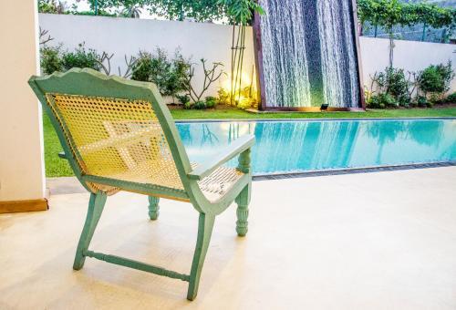 The swimming pool at or near Binnacle Negombo