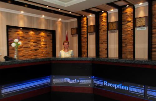 The lobby or reception area at Elaria Hotel Hurgada