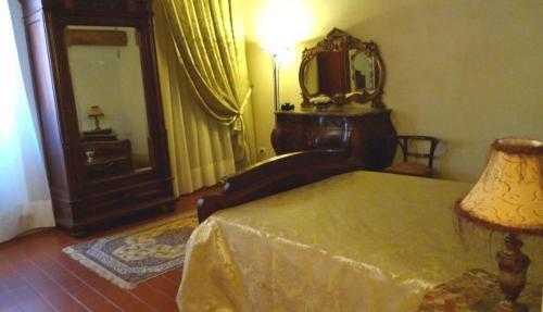 Letto o letti in una camera di Al Palazzo Antico