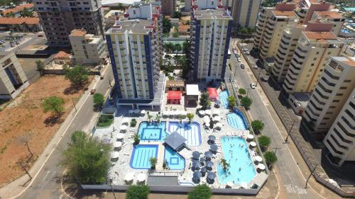 A bird's-eye view of 707 Eldorado Thermas Park