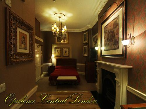 A seating area at Opulence Central London