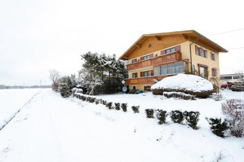 Haus Steiner during the winter