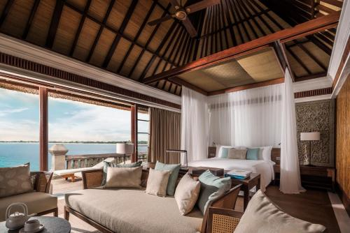 A seating area at Four Seasons Resort Bali at Jimbaran Bay