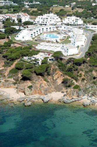 Een luchtfoto van Villas d'Agua