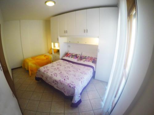 Postel nebo postele na pokoji v ubytování Residence Mediterraneo