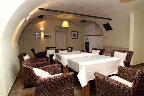Restaurace v ubytování Lisensky Dvur