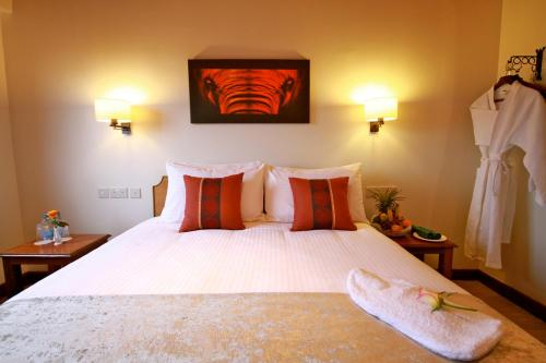 Un ou plusieurs lits dans un hébergement de l'établissement The Ark Lodge