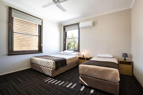 A room at Toongabbie Hotel