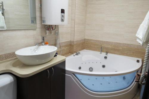 Ванная комната в Boyard Inn