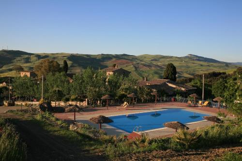 A view of the pool at Agriturismo Monaco Di Mezzo or nearby