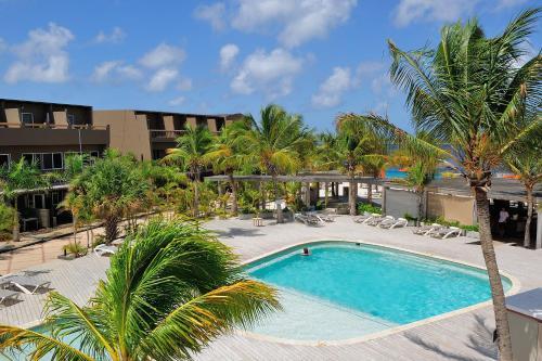 Het zwembad bij of vlak bij Eden Beach Resort - Bonaire