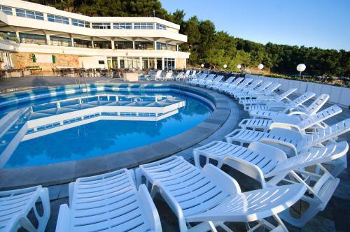 The swimming pool at or near Adriatiq Resort Fontana