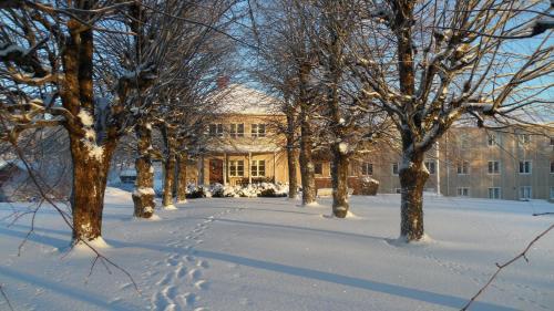 Partille Vandrarhem during the winter