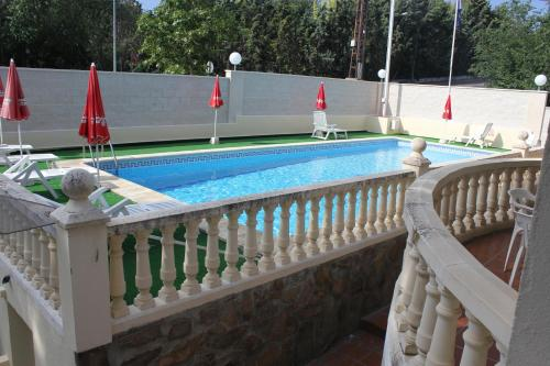 The swimming pool at or near Hotel Las Nieves