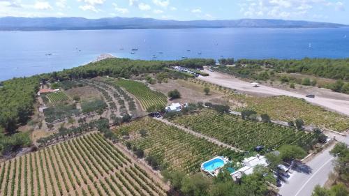 Letecký snímek ubytování Holiday Home Vineyard House