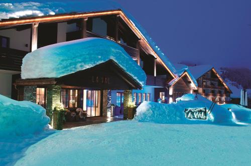 La Val Hotel & Spa during the winter
