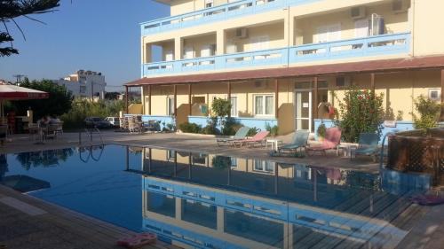 The swimming pool at or near Eleni Palace