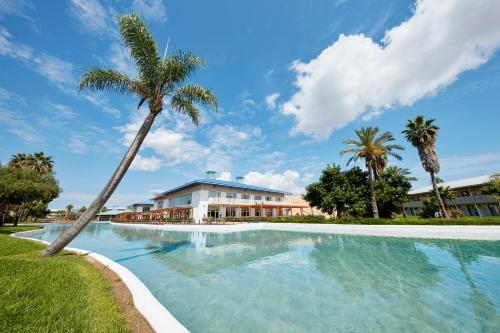The swimming pool at or near PortAventura® Hotel Caribe - Includes PortAventura Park Tickets