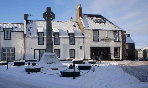 The Lomond Hills Hotel during the winter