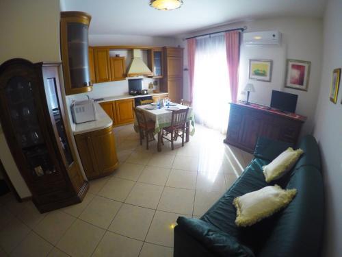 Posezení v ubytování Appartamenti Ponente