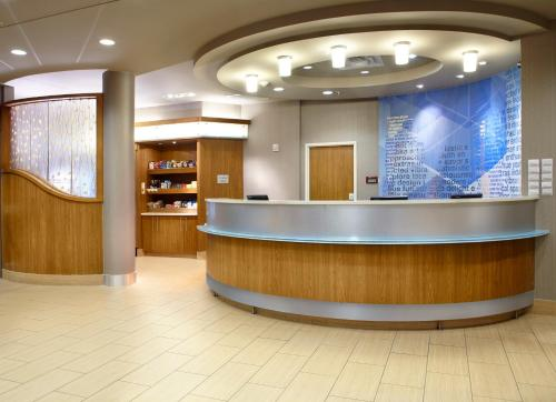 The lobby or reception area at SpringHill Suites Houston Intercontinental Airport