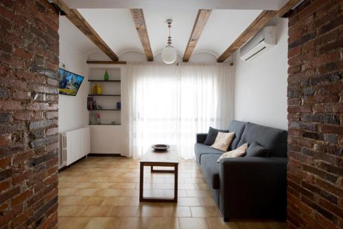 Zona de estar de Apartments Mo