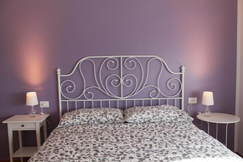 A bed or beds in a room at Sogni d'Assisi