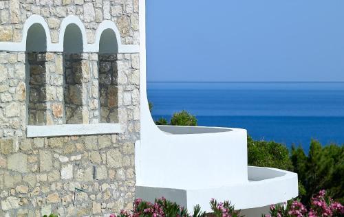 Nespecifikovaný výhled na moře nebo výhled na moře při pohledu z hotelu