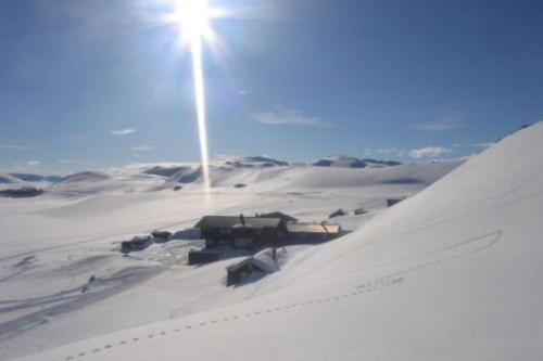 Bergsjøstølen Fjellstue during the winter