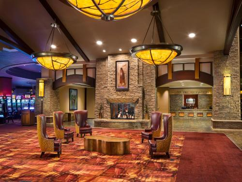 The lobby or reception area at Choctaw Casino Hotel – Pocola