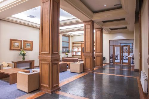 El vestíbulo o zona de recepción de Gran Hotel Isabel Riquelme