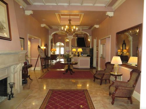 The lobby or reception area at The Monterey Hotel