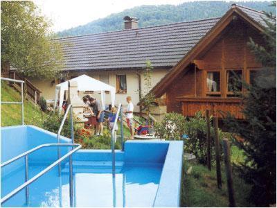 Der Swimmingpool an oder in der Nähe von Hirschen-Dorfmühle