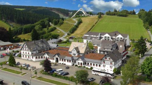 A bird's-eye view of Vakantiehotel Der Brabander