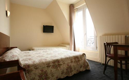 Letto o letti in una camera di Grand Hôtel De L'Europe