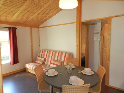 A seating area at Holiday Home Gîtes Fialoux