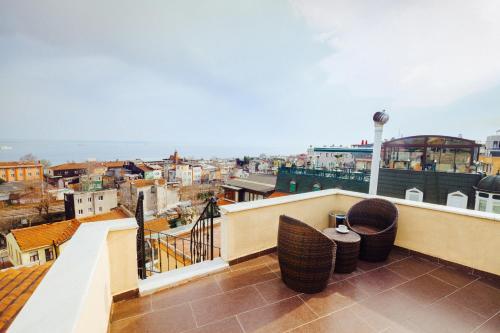 Балкон или терраса в Saba Sultan Hotel