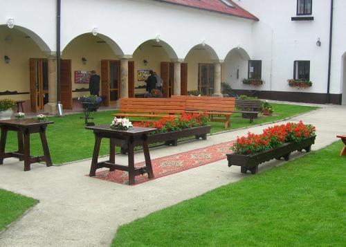 Zahrada ubytování Hotel Valaskuv Grunt