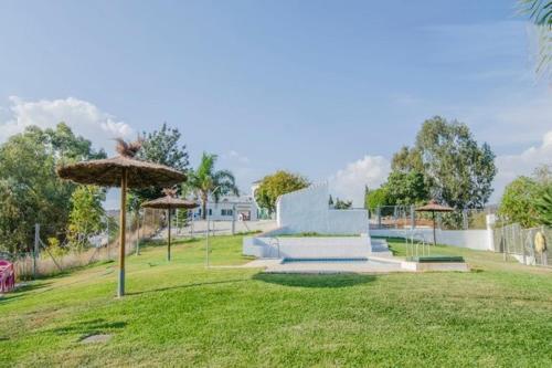 Jardín al aire libre en Finca Buenavista