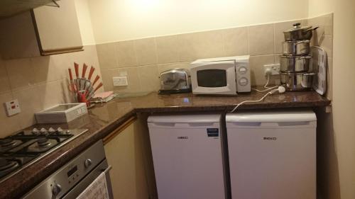 A kitchen or kitchenette at Mayville House Flat