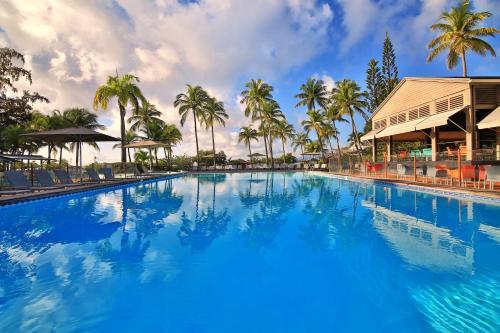 The swimming pool at or near La Creole Beach Hotel & Spa