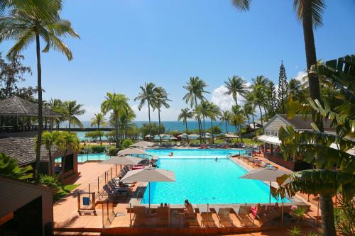A view of the pool at La Creole Beach Hotel & Spa or nearby