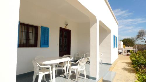 A porch or other outdoor area at Ca'n Riera de Sa Rota