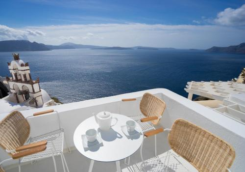 A balcony or terrace at Canvas Suites