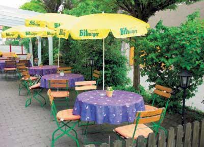 Ein Restaurant oder anderes Speiselokal in der Unterkunft Hotel-Gasthof Lamm
