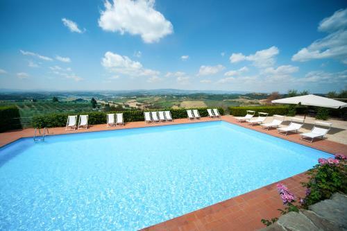 A piscina localizada em Fattoria di Cinciano ou nos arredores