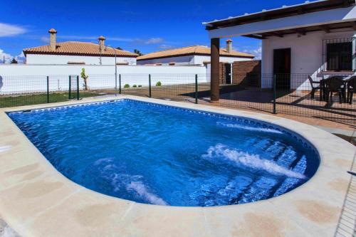 The swimming pool at or near apartamentos Pericón