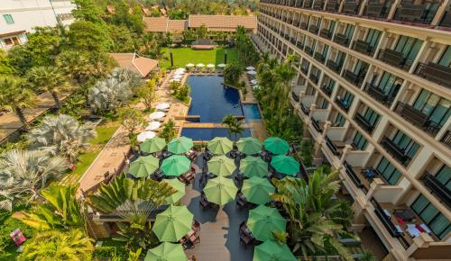 A view of the pool at Angkor Miracle Resort & Spa or nearby