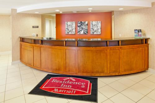 The lobby or reception area at Residence Inn Boston Norwood